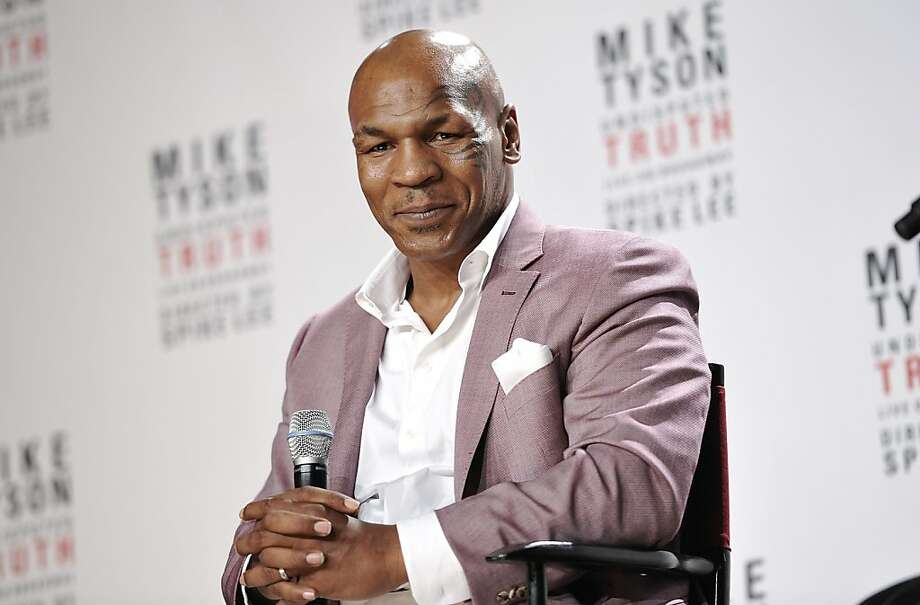 "Mike Tyson says ""you can't win honor ... only lose it."" Photo: Evan Agostini, Associated Press"