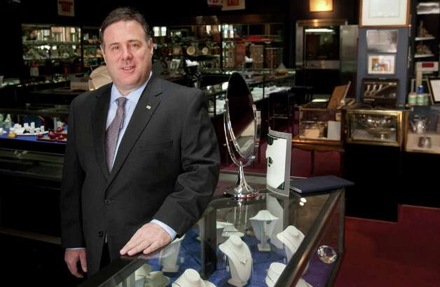 Houston Jewelry will celebrate its 60th anniversary in April. President Rex Solomon started working at the store when he was 12, and his brother started when he was 10. Solomon is now president of the store. Read our Q&A at houstonchronicle.com. Photo: Billy Smith II, Staff / Houston Chronicle