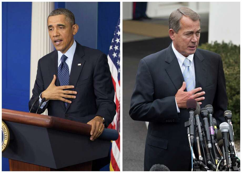 President Barack Obama and House Speaker John Boehner speak to reporters regarding sequestration. Readers chime in with their thoughts on its effects.
