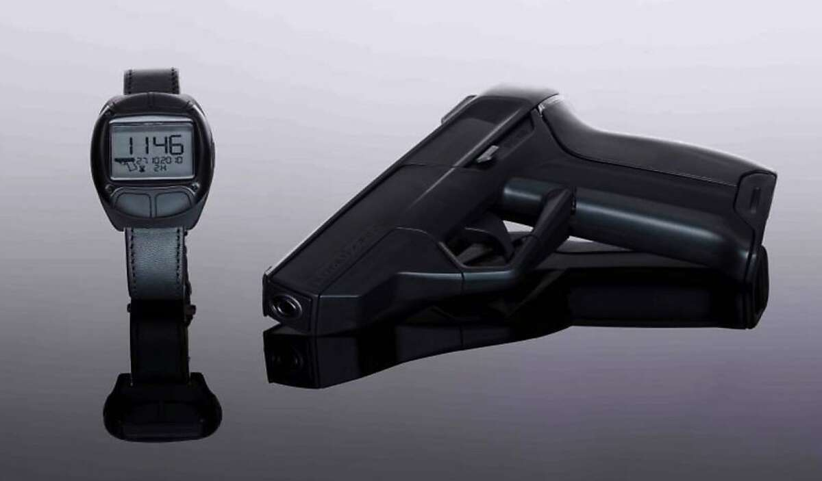 A German company, Armatix, says it will begin selling a pistol this year in the U.S. that will only fire after the owner enters a five-digit code into a watch.