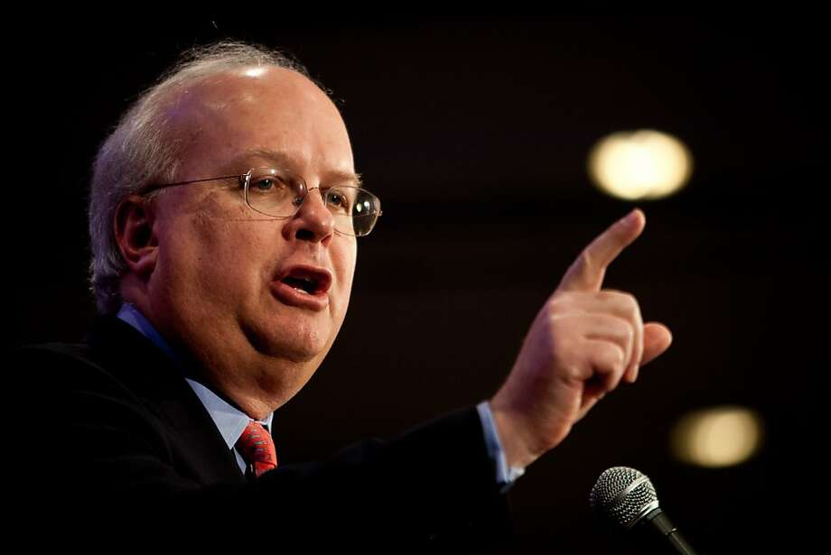 Karl Rove speaks at a luncheon at the California Republican Party convention, March 2, 2013 in Sacramento, California. Photo: Max Whittaker/Prime, Special To The Chronicle