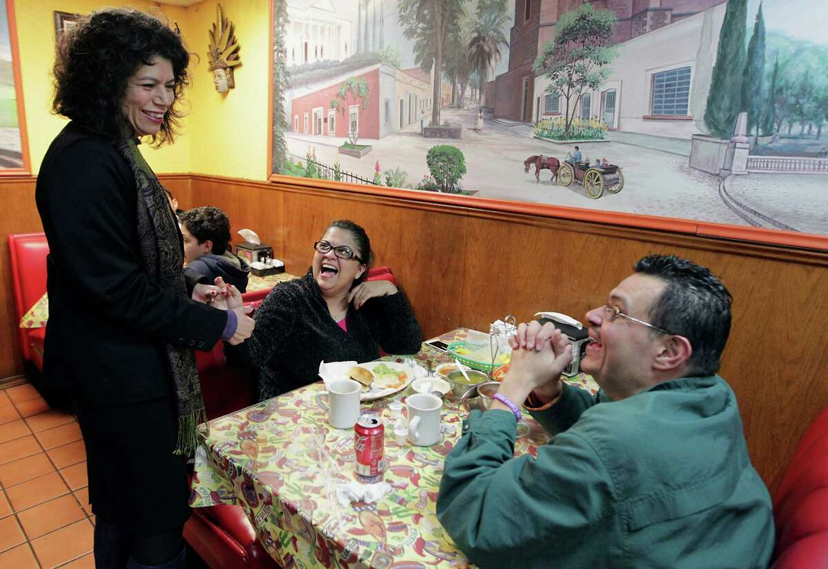 State Rep. Carol Alvarado has indicated her interest in the Senate seat held by Sylvia Garcia.