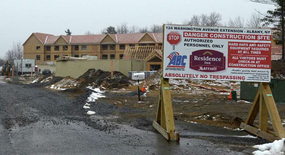 Exterior view of the new Residence Inn at 124 Washington Avenue Extension March 1, 2013, in Albany N.Y.   (Skip Dickstein/Times Union) Photo: SKIP DICKSTEIN / 10021383A