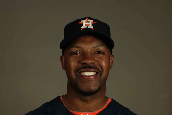 Houston Astros manager Bo Porter (16) during spring training workouts at the Osceola County Stadium, Thursday, Feb. 21, 2013, in Kissimmee.   ( Karen Warren / Houston Chronicle )