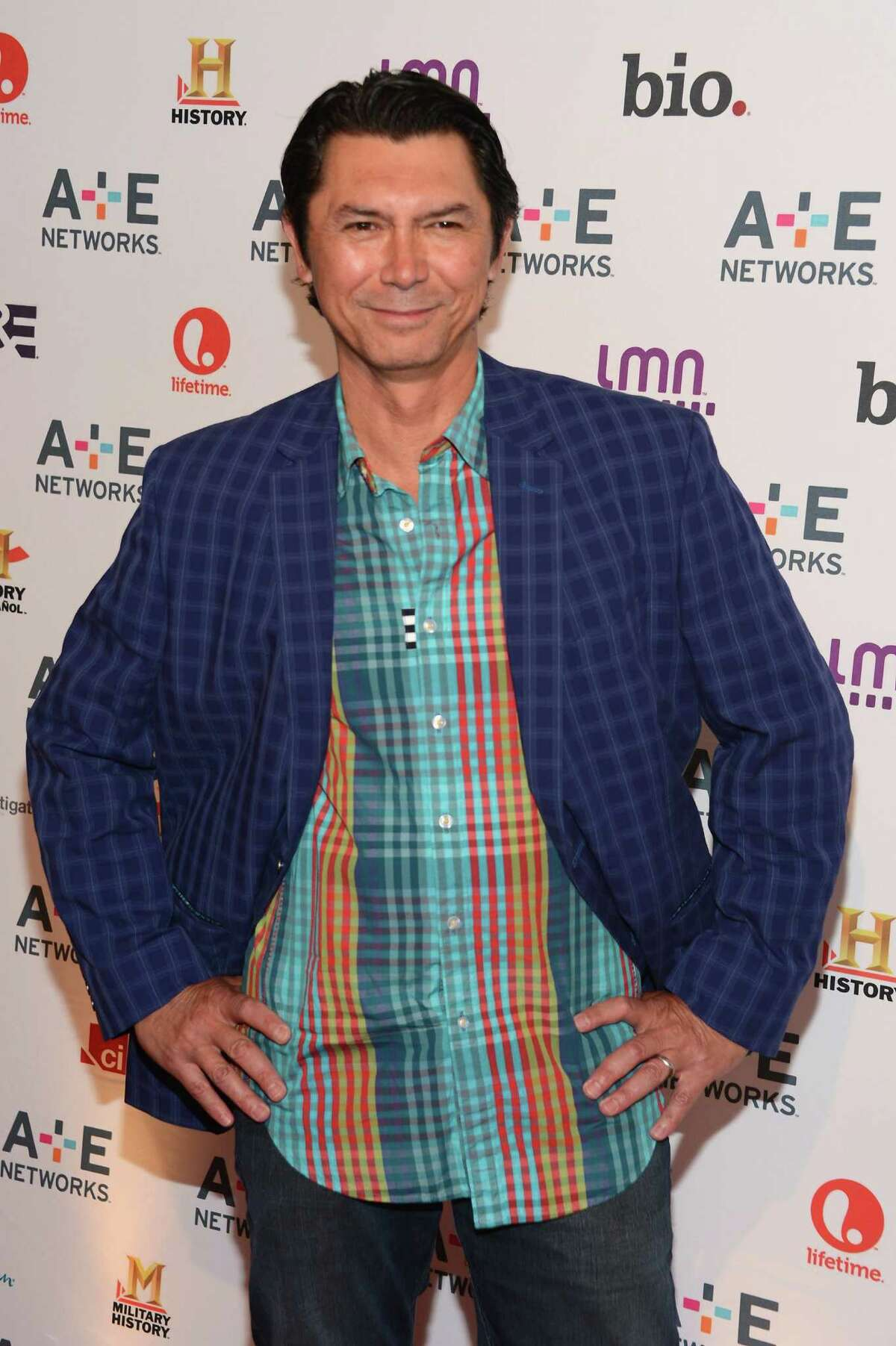 NEW YORK, NY - MAY 09: Lou Diamond Phillips of Longmire attends the A+E Networks 2012 Upfront at Lincoln Center on May 9, 2012 in New York City.