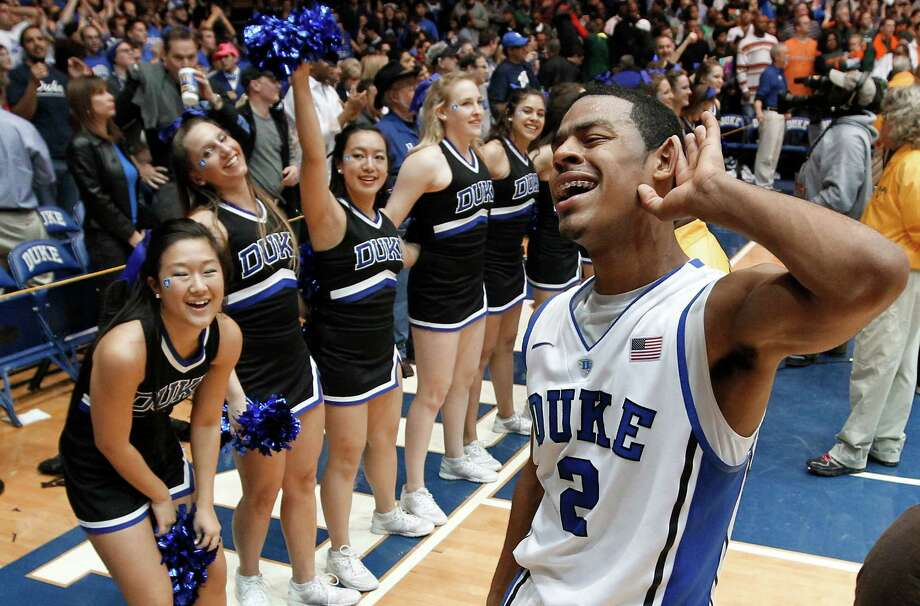 Quinn Cook heard all about Duke's big win over Miami from the home crowd. Photo: Chuck Liddy, MBR / Raleigh News & Observer