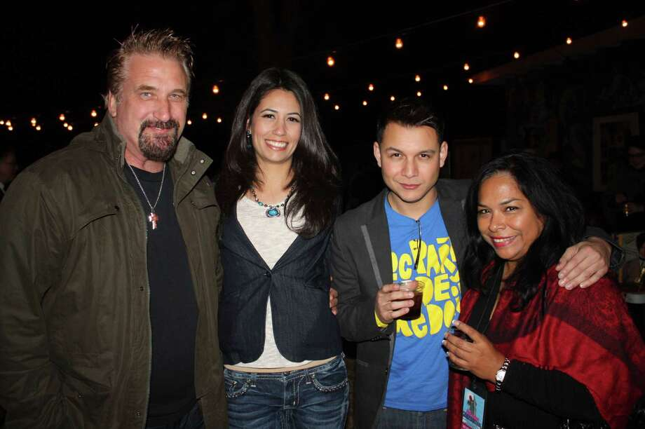 Actors and film buffs attend the last day of CineFestival at the Guadalupe Theater on Saturday night, March 2, 2013. Photo: Libby Castillo, For MySA.com