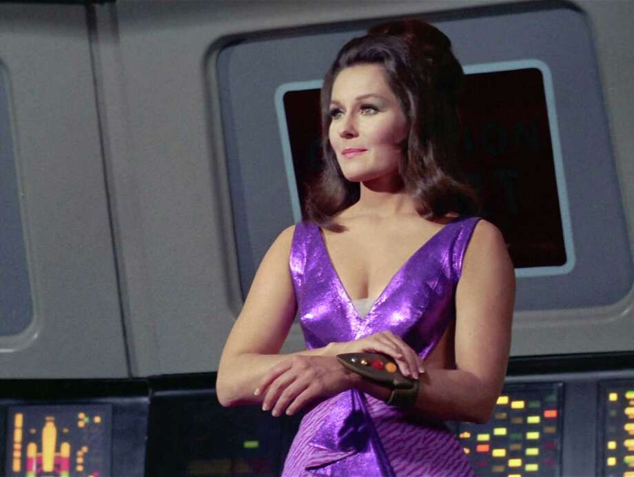 "Marj Dusay as Kara in the STAR TREK episode, ""Spock's Brain."" Original airdate, September 20, 1968.  Season 3, episode 1.  Image is a screen grab.  (Photo by CBS via Getty Images) Photo: CBS Photo Archive, Multiple / 1968 CBS Photo Archive"