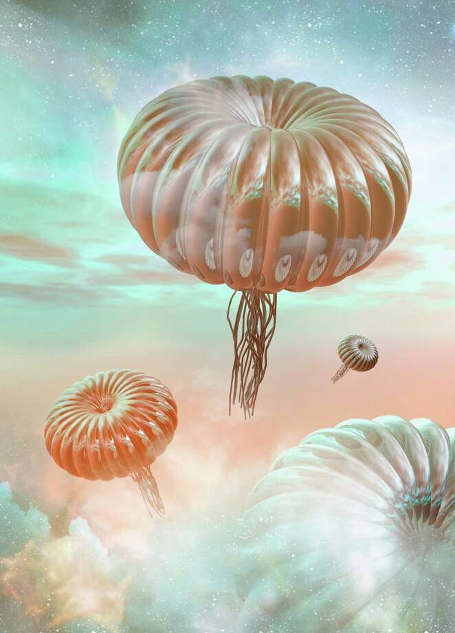 Alien life forms, artwork Photo: VICTOR HABBICK VISIONS, Multiple / Science Photo Library RF