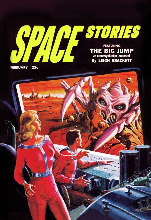 Space Stories: Space Monster Attack  (Photo by Buyenlarge/Getty Images) Photo: Buyenlarge, Multiple / Archive Photos