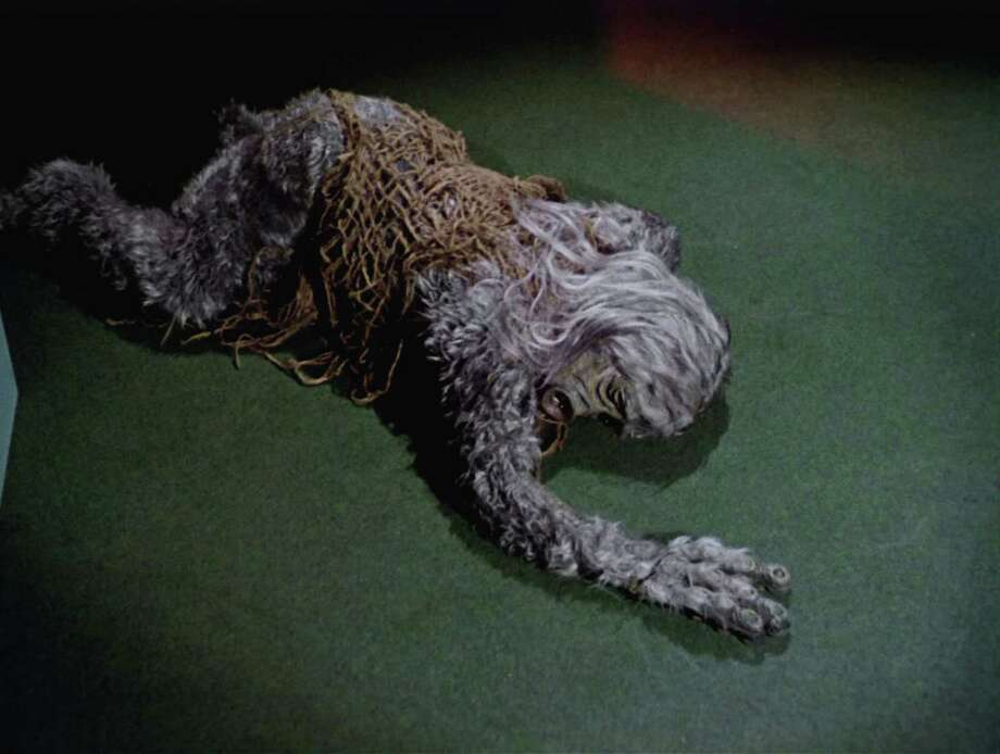 The Salt Creature from 'The Man Trap,' the premiere episode of 'Star Trek,' which aired on September 8, 1966. The shape-shifting creature, which sucks the salt from its victims, has just been killed. (Photo by CBS Photo Archive/Getty Images) Photo: Frame Grab, Multiple / 2008 CBS WORLDWIDE INC.