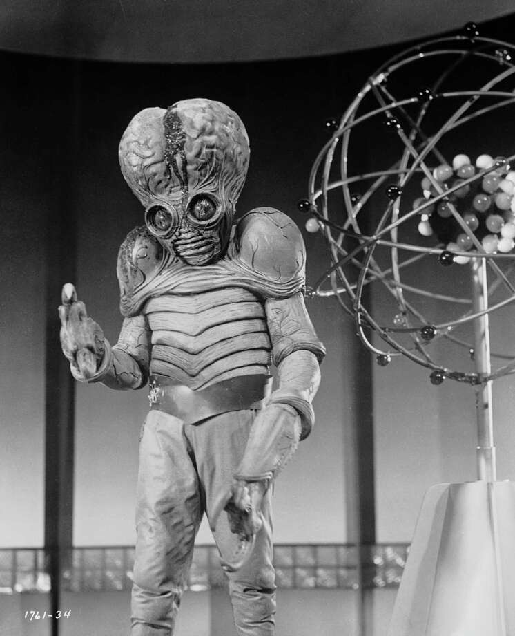 1954:  An alien mutant on the planet Metaluna, one of the stars of the sci-fi movie 'This Island Earth', directed by Joseph M Newman.  (Photo by John Kobal Foundation/Getty Images) Photo: John Kobal Foundation, Multiple / Moviepix