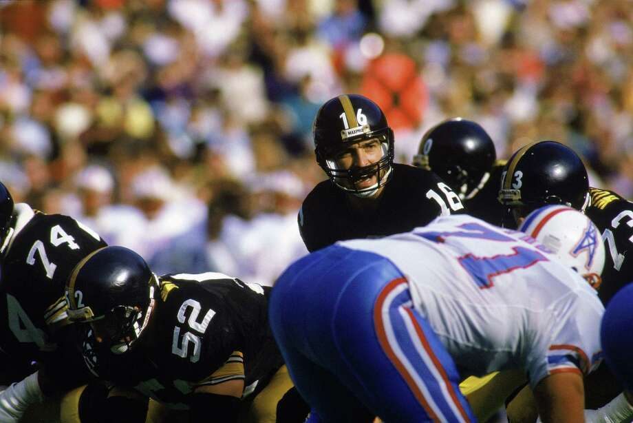 Jan. 6, 1980 -- Mike Renfro's touchdown is nullifiedWith a few seconds left in the third quarter of the 1979 AFC Championship game, from the Pittsburgh 6-yard line, Houston Oilers quarterback threw a touchdown pass to receiver Mike Renfro that he appeared to catch with both feet in the end zone. Even though the replay appeared to confirm it, the officials ruled the pass incomplete and the Oilers had to settle for a field goal. The Steelers ended up winning 27-13. Photo: Rick Stewart, Getty Images / 1986 Getty Images