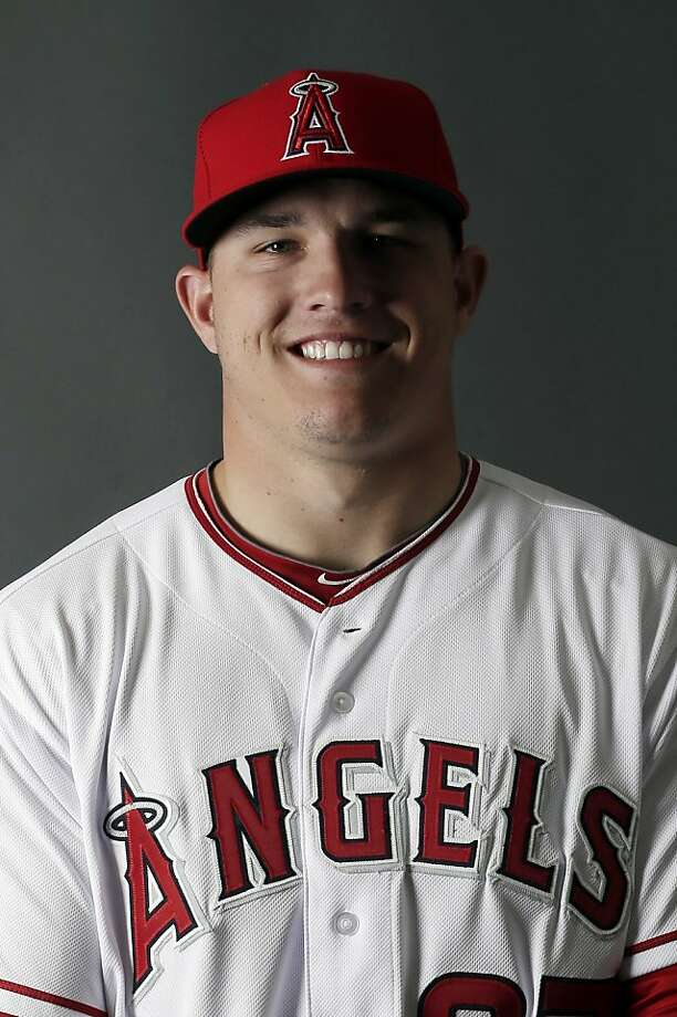 Mike Trout Photo: Morry Gash, Associated Press