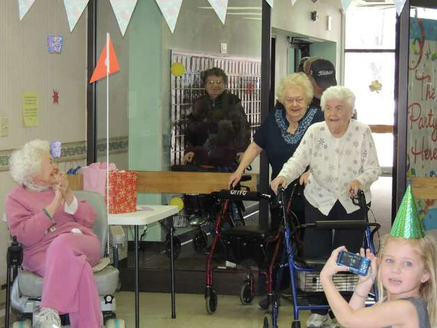 "Josephine Zelasko turned 99 years old Thursday Feb. 28 and the occasion is celebrated at the Hudson Shores Apartments.""Nanny,"" as she is called by her grandchildren, Mike and Lisa Majer, was up to doing some polka dancing to the SantaLucia Band. ""YES she is really 99 - she looks amazing,"" Lisa Majer says."