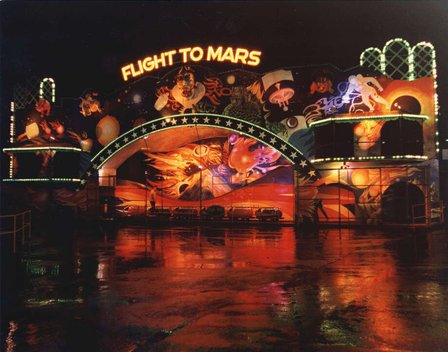 5. Flight to Mars: This ride was long gone by the time the Fun Forest died, having left in 1996 to make room for the Experience Music Project. Its dark, campy-scary ride was a measure of bravery for generations of kids.