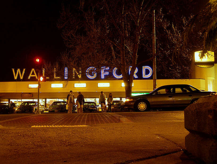 10. ''Food Giant'' sign: It blazed from the Wallingford grocery's rooftop in neon red for 40 years. When QFC bought the store in the late '90s, neighbors had grown so fond of the sign that QFC agreed to re-use some of the letters in today's ''Wallingford'' sign.