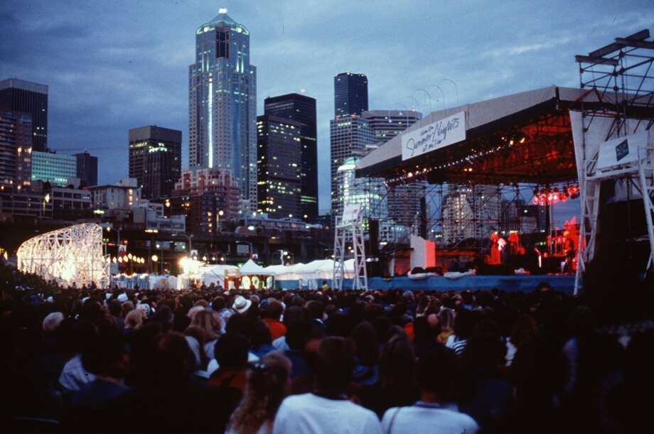 14. Summer Nights at the Pier: These concert series showed off Seattle's splendor, with great views of downtown, Elliott Bay and the Olympics. But the site - Piers 62 and 63 – began to age and the concerts moved to South Lake Union in 2005. Then they stopped.