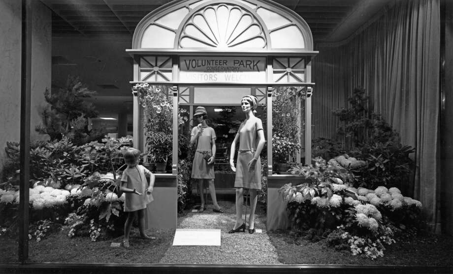 19. Frederick & Nelson window displays: They captivated downtown shoppers with classy set designs and live action, which included puppet shows and real reindeer during Christmas.