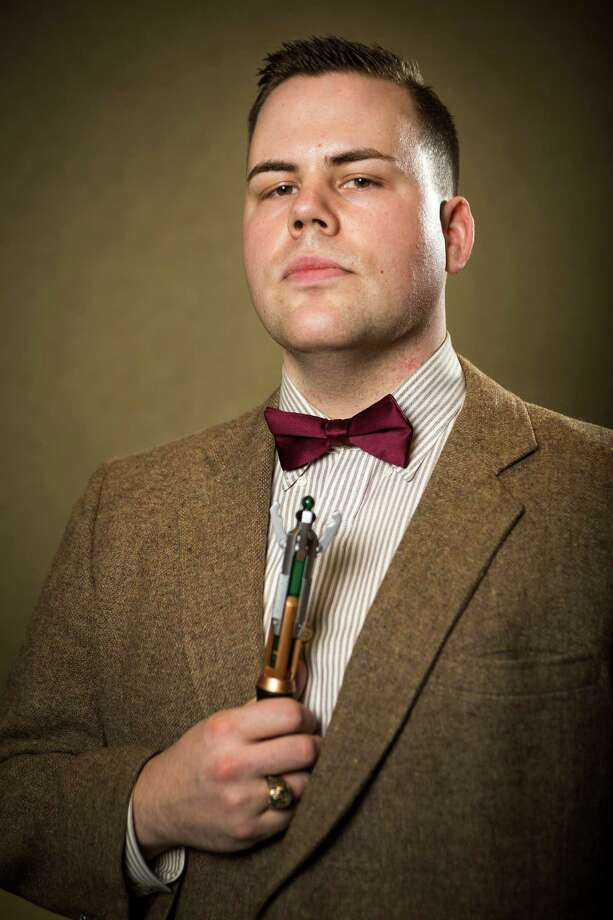 """Christopher Blacknall, dressed as """"11th Doctor,"""" poses for a portrait on the third day of the annual Emerald City Comicon on Sunday, March 3, 2013, in the Washington State Convention Center in Seattle, Wash. Photo: JORDAN STEAD / SEATTLEPI.COM"""