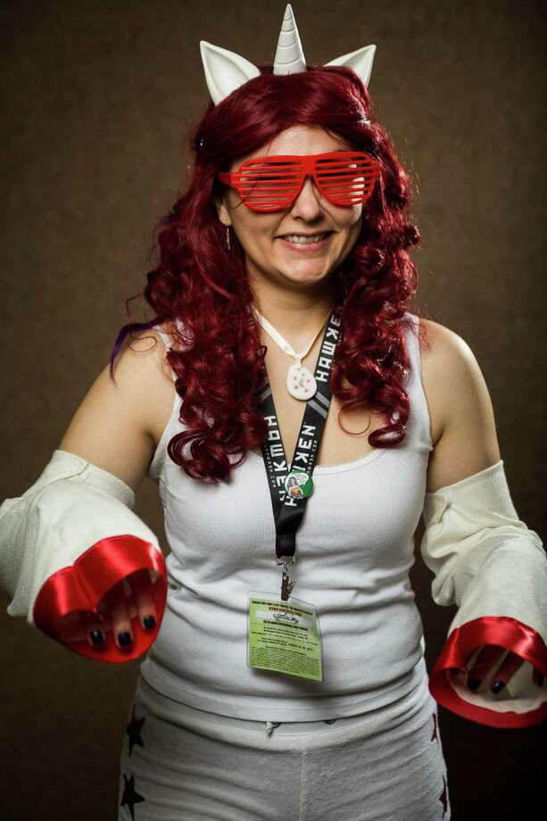 "Abbi Engel, dressed as a ""Moondancer"" from My Little Pony, poses for a portrait on the third day of the annual Emerald City Comicon on Sunday, March 3, 2013, in the Washington State Convention Center in Seattle, Wash. Photo: JORDAN STEAD / SEATTLEPI.COM"