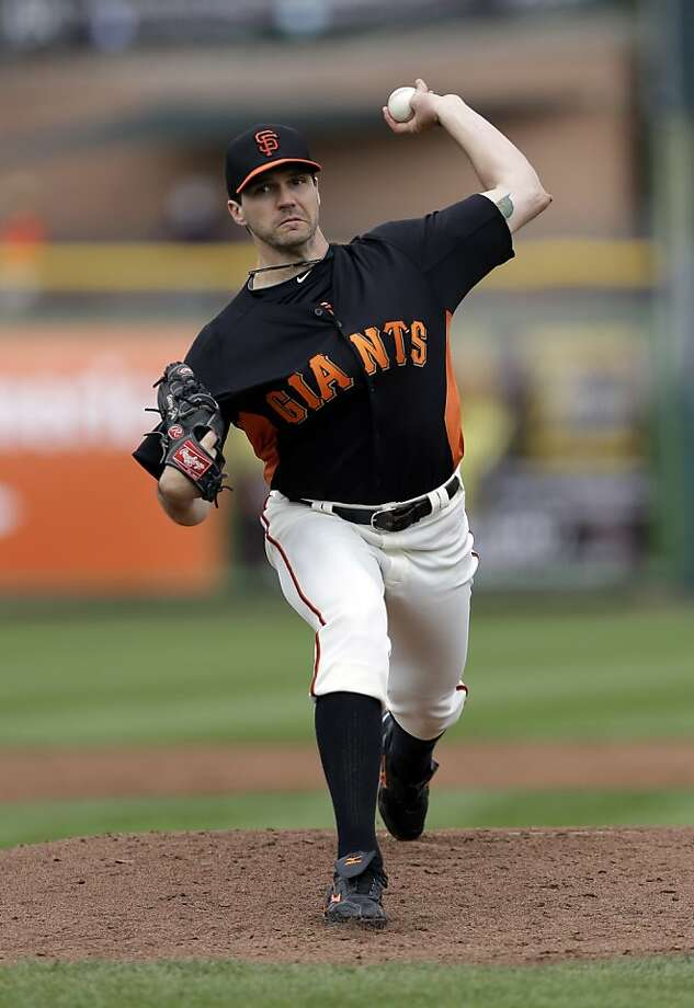 Barry Zito looked better in his second spring start. Photo: Marcio Jose Sanchez, Associated Press