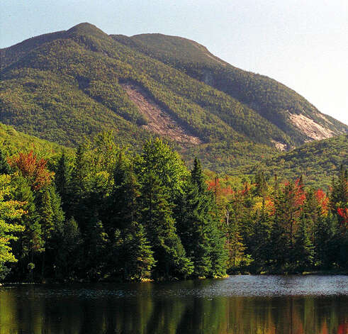 ** FOR IMMEDIATE RELEASE **Heart Lake area in Keene, N.Y., in the Adirondack Mountains is shown in this Sept. 19, 1999, file photo. Preparing to save yourself in the wilderness, according to the Department of Environmental Conservation, includes packing first-aid supplies, extra clothing, food, water, a map and compass, and you should know how to use them. You should also know the forecast and let someone know where you're going and when you'll return.  (AP Photo/Press-Republican, Scott Wilber/FILE) Photo: SCOTT WILBER / PRESS-REPUBLICAN