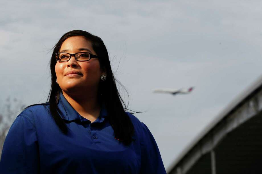 Karin Ruiz, a 20-year-old Mormon, applied to be a missionary immediately on learning that the age requirement for women had been lowered from 21 to 19. Photo: Johnny Hanson, Staff / © 2013  Houston Chronicle