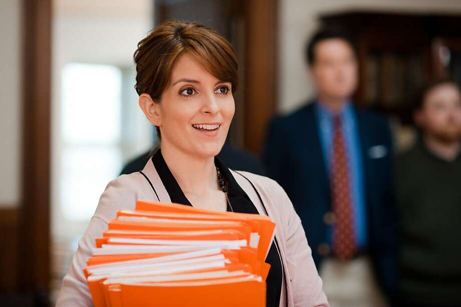"Tina Fey plays an official at Princeton with intrigue in her personal life in ""Admission"" - and got used to being directed by Paul Weitz instead of being her own boss, after years as producer of ""30 Rock."" Photo: David Lee, Focus Features"
