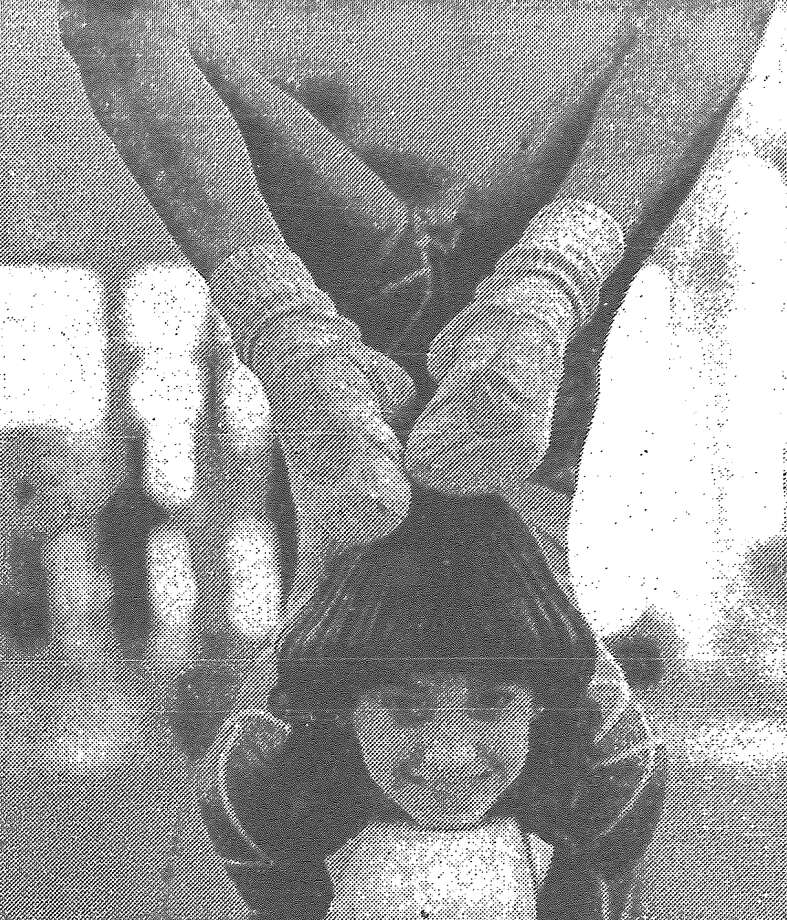 MacArthur's Brande Brice, 14, shows her form during a practice session for the 1983 U.S. Gymnastics Federation Texas State Class I Girls Gymnastics Championships scheduled Saturday and Sunday at Lee High School. Published in the San Antonio Express March 18, 1983. Photo: File Photo