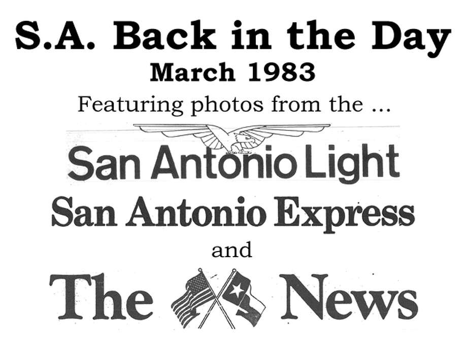 We've combed through the San Antonio Express, San Antonio News and San Antonio Light archives to bring you the best photos from the Alamo City 31 years ago, for the most part using the original photo captions, with exceptions to provide more information. Enjoy! Compiled by Merrisa Brown, mySA.com. Photo: San Antonio Express-News Photo Illustration