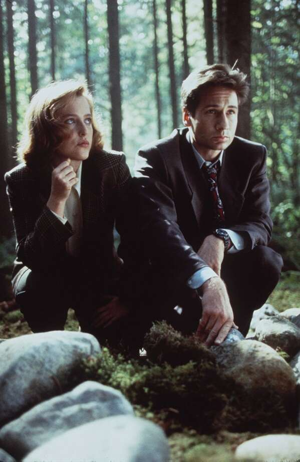 Meaningful stares in the mossy woods. Sure, ''X-Files'' feels a little dated now, but it paved the way for a lot of mythology-and-horror series today.