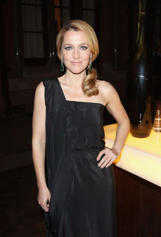 Gillian Anderson in 2013. She recently appeared in the TV show ''The Fall'' and played Miss Havisham in a TV production of ''Great Expectations.''