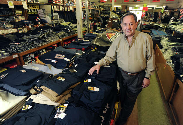 Ralph Night owner of Night's Uniforms in Downtown Beaumont said he will be closing the store after 91 years. The store will remain open until the contents are sold.  Photo taken Monday, January 04, 2013 Guiseppe Barranco/The Enterprise Photo: Guiseppe Barranco, STAFF PHOTOGRAPHER / The Beaumont Enterprise