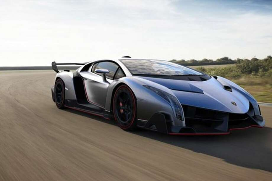 A Czech auto website released several new photos of the Lamborghini Veneno. The $4.6-million car will debut March 5 at the Geneva Auto Show.