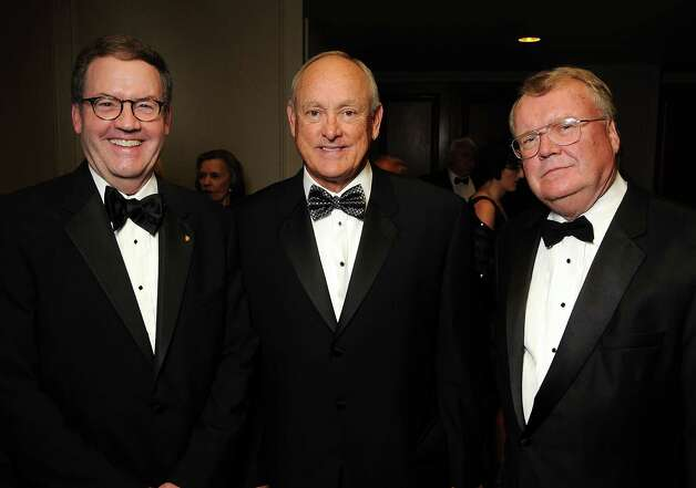 From left: Marc Mattsson, Nolan Ryan and Pat Hogan at the 50th Anniversary Celebration of the Texas Heart Institute at the Westin Galleria Tuesday Sept. 18,2012.(Dave Rossman/For the Chronicle) Photo: Dave Rossman, Freelance / © 2012 Dave Rossman