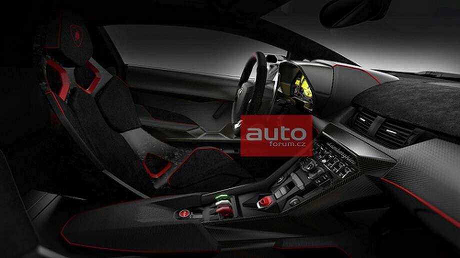 A Czech auto website released several new photos of the Lamborghini Veneno. The $4.6-million car will debut March 5 at the Geneva Auto Show.  Photo: AutoForum.cz