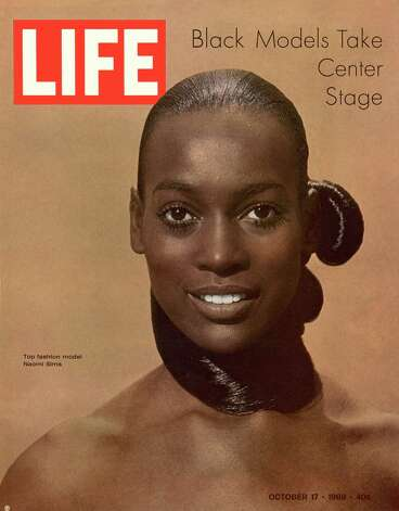Many consider Naomi Sims to have been the first African-American supermodel, she got he big break when she appeared in a New York Times fashion supplement in 1967. Photo: Yale Joel, Getty Images / Time Life Pictures