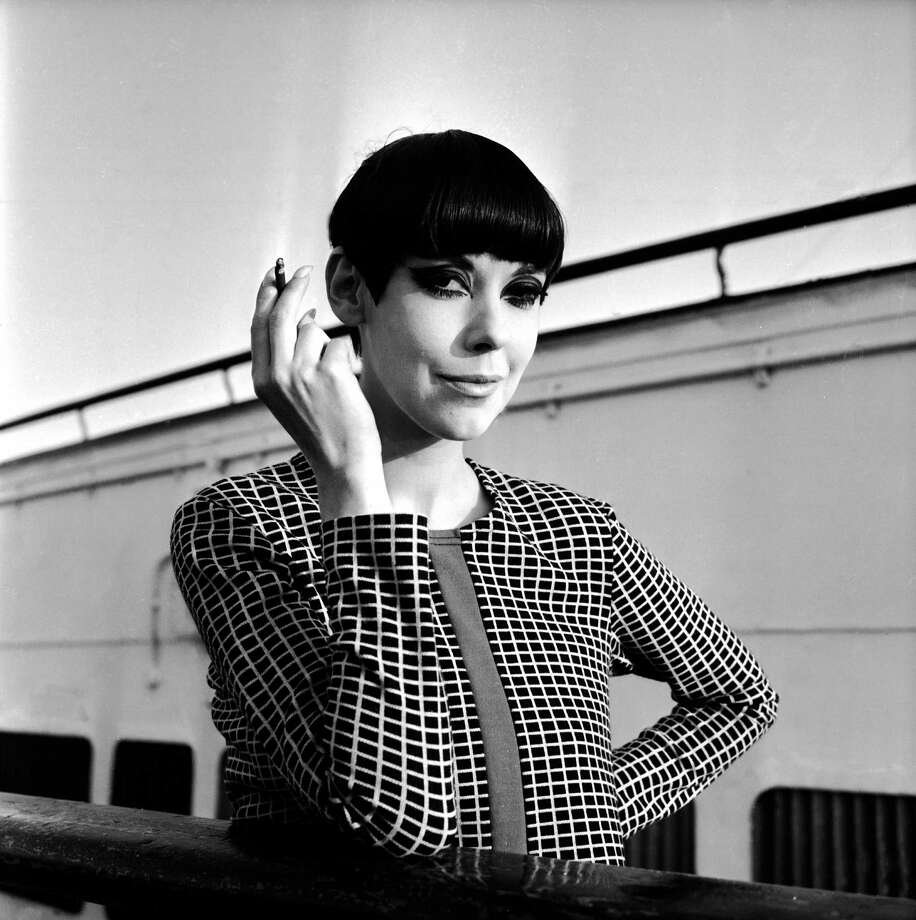 American model Peggy Moffitt's trademark look was the page-boy, bobbed haircut. Photo: Hulton Archive, Getty Images / 2003 Getty Images