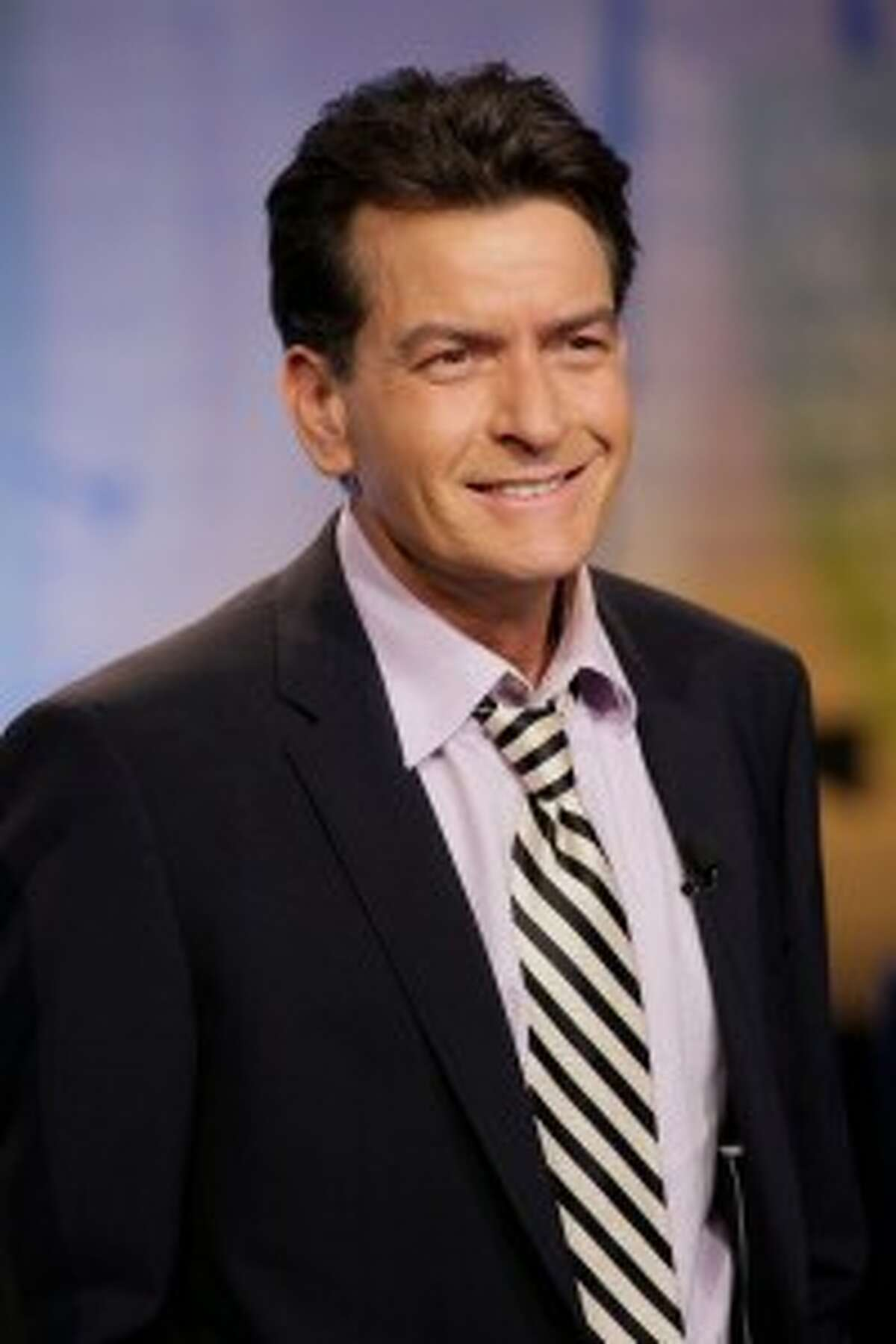 Charlie Sheen was another victim of a swatting prank in Los Angeles last year.