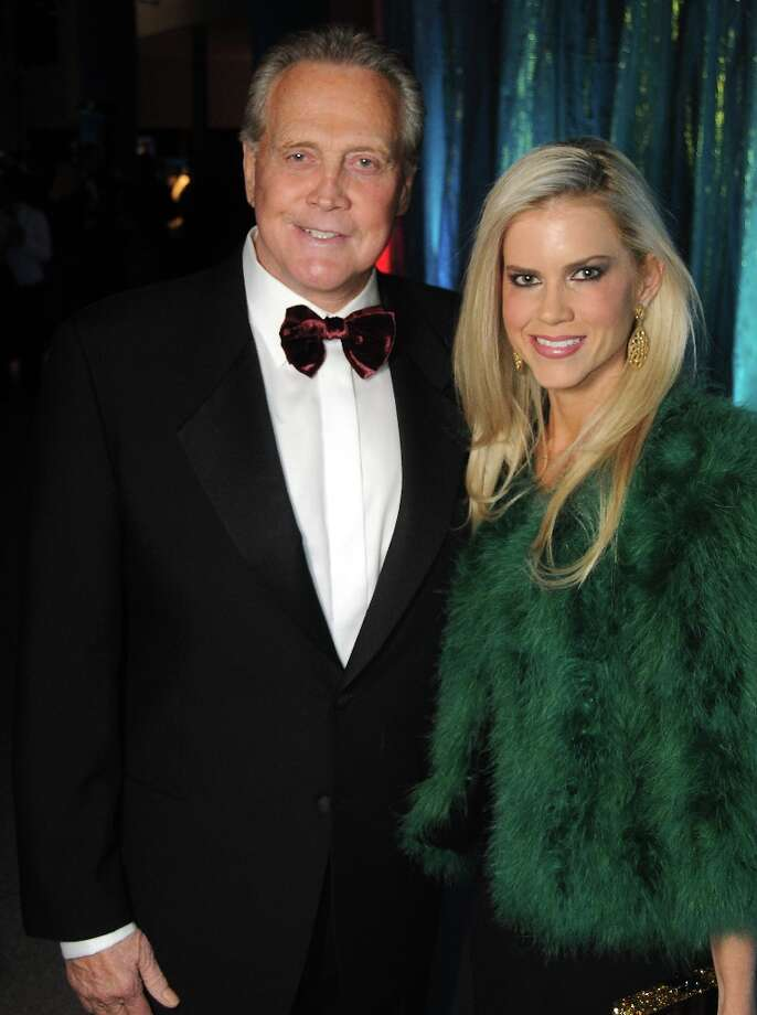 Lee Majors and his wife Faith. (Dave Rossman/ For the Chronicle) Photo: Dave Rossman, For The Houston Chronicle / © 2013 Dave Rossman