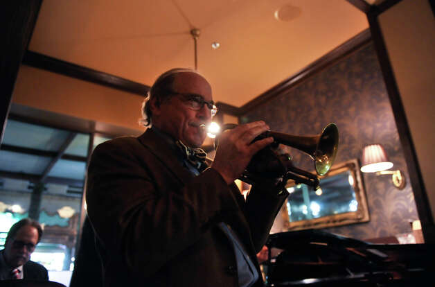 "San Antonio musician Jim Cullum and his band perform a weeknight gig at Bohanan's recently. Archive's from Cullem's long-running NPR show, ""Live from the Landing"", are now being streamed 24/7 by Stanford University. Photo: Robin Jerstad"