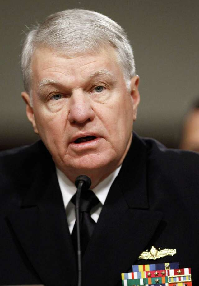 "Retired Adm. Gary Roughead said the U.S. military is ""out of practice at efficiency."" Photo: File Photo, Getty Images"