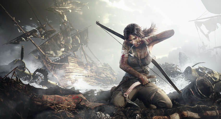 """Tomb Raider"" explains how Lara Croft went from being a thrill-seeker to a superheroine. Photo: Square Enix"