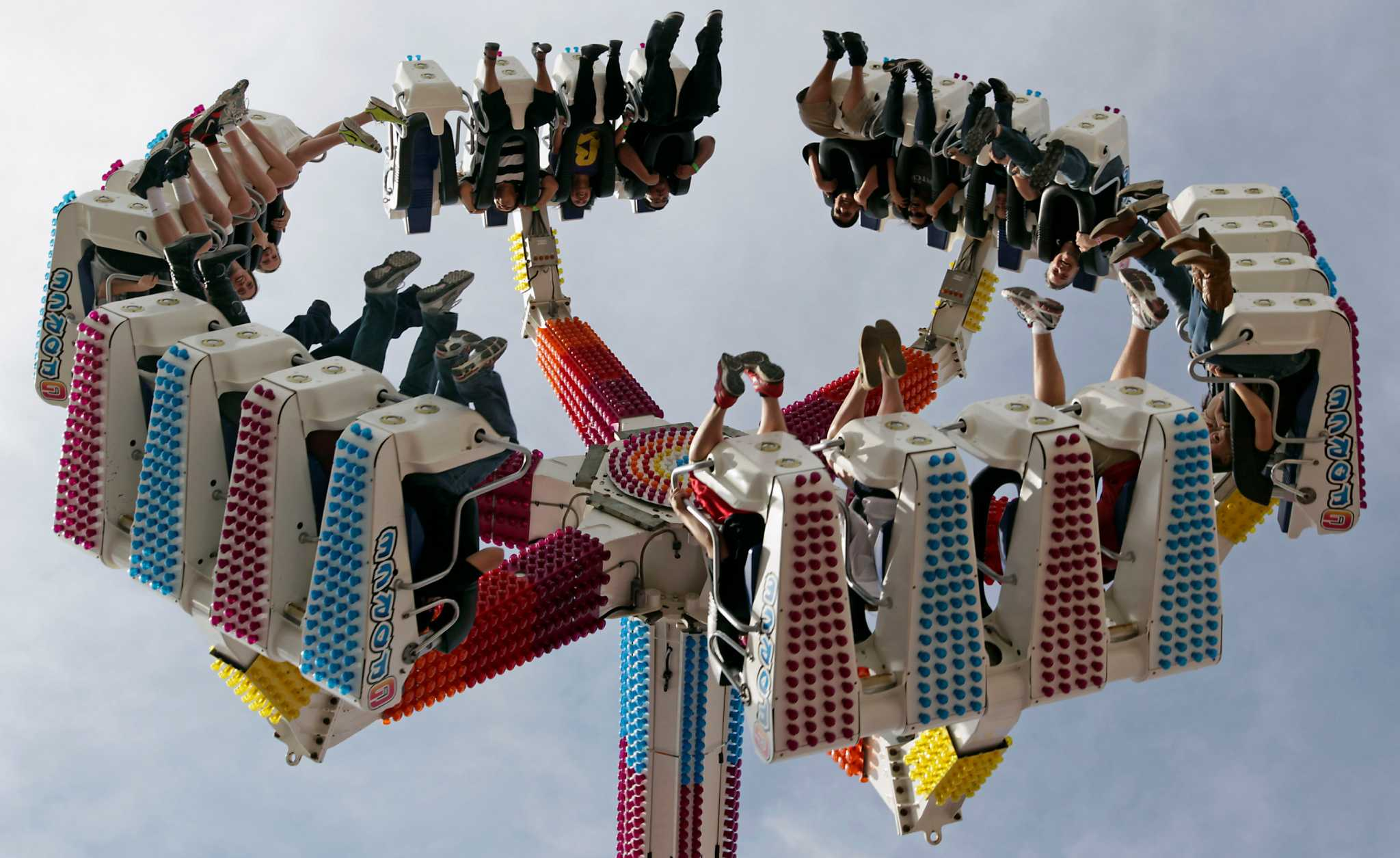 On The Midway Rating The Rides Houston Chronicle