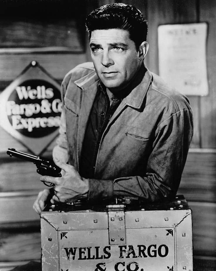 Actor Dale Robertson, best remembered for his portrayal of Jim Hardie in the TV series Tales of Wells Fargo, has died, February 28, 2013  from lung cancer and pneumonia aged 89 April 1960:  American actor Dale Robertson who starred in the popular TV western 'Tales of Wells Fargo' which ran from 1957 until 1962.  (Photo by L. J. Willinger/Keystone Features/Getty Images) Photo: L. J. Willinger, Getty Images
