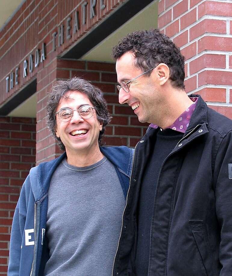 Tony Taccone (left) and Tony Kushner will close Berkeley Rep's 2013-14 season with a Kushner play. Photo: Cheshire Isaacs