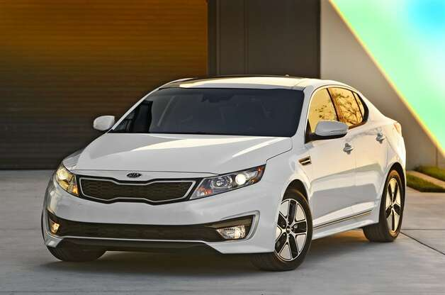 Optima from the front. (All photos from Kia Motors America)