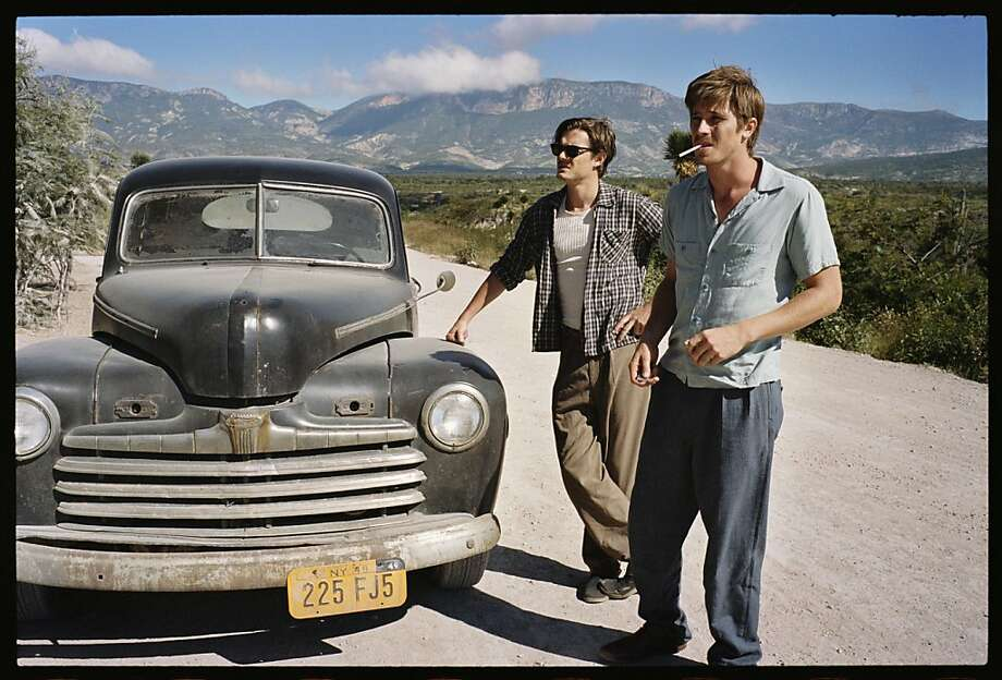 "Sam Riley as writer Sal Paradise and Garrett Hedlund as free-spirited Dean Moriarty in ""On the Road,"" based on Jack Kerouac's groundbreaking 1957 novel. Photo: Gregory Smith, IFC Films"