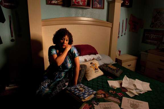Barrie Deyon-Whittington has kept the room of her dead son, Jarrell Deyon, just as it was on the day of his murder in 2005.